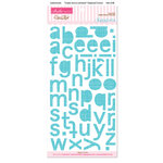 Bella Blvd - Sophisticates Collection - Ciao Chip - Self Adhesive Chipboard - Simply Simona Alphabet - Salt Water