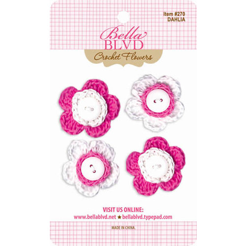 Bella Blvd - Crochet Flowers - Dahlia