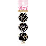Bella Blvd - Buttons - Zebra