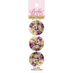 Bella Blvd - Buttons - Purple Flora