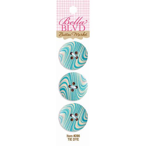 Bella Blvd - Buttons - Tie Dye