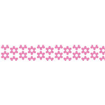 Bella Blvd - Decorative Tape - Pink Flowers