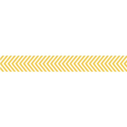 Bella Blvd - Decorative Tape - Yellow Chevron