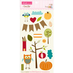 Bella Blvd - Finally Fall Collection - Ciao Chip - Self Adhesive Chipboard - Icons