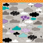 Bella Blvd - Too Cute to Spook Collection - Halloween - 12 x 12 Double Sided Paper - Spooky Night