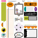 Bella Blvd - Too Cute to Spook Collection - Halloween - 12 x 12 Cardstock Stickers - Just Write
