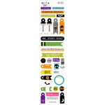 Bella Blvd - Too Cute to Spook Collection - Halloween - Cardstock Stickers - Miniatures
