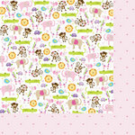 Bella Blvd - Baby Girl Collection - 12 x 12 Double Sided Paper - It's a Girl