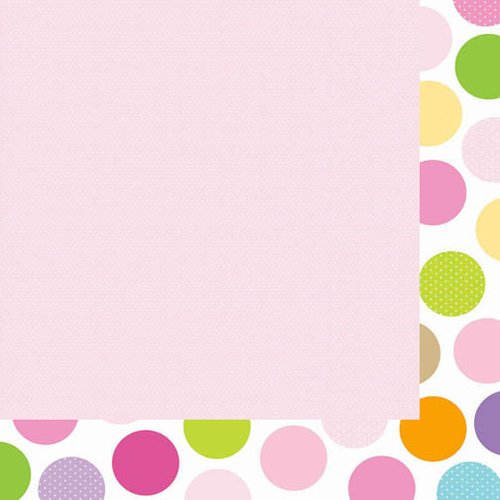 Bella Blvd - Baby Girl Collection - 12 x 12 Double Sided Paper - Pretty in Pink