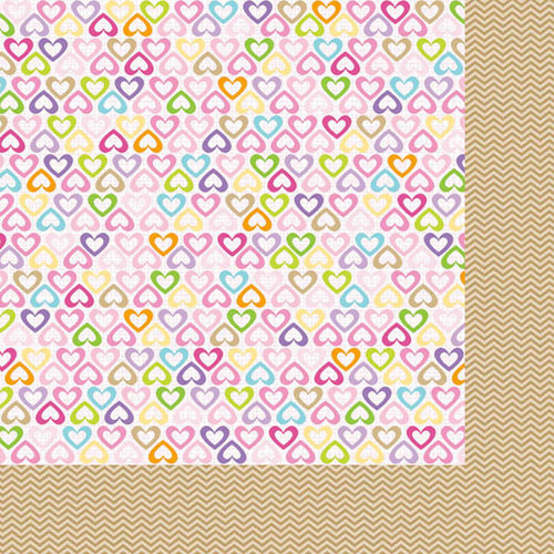 Bella Blvd - Baby Girl Collection - 12 x 12 Double Sided Paper - Daddy's Girl