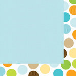 Bella Blvd - Baby Boy Collection - 12 x 12 Double Sided Paper - Baby Blue