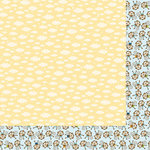 Bella Blvd - Baby Boy Collection - 12 x 12 Double Sided Paper - Heaven Sent