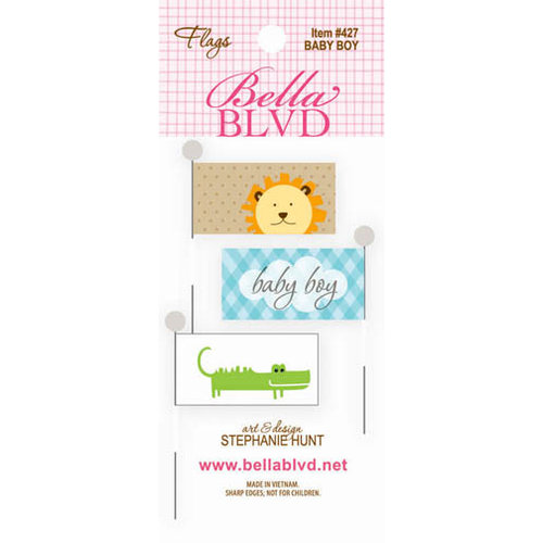 Bella Blvd - Baby Boy Collection - Flags