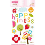 Bella Blvd - Sunshine and Happiness Collection - Ciao Chip - Self Adhesive Chipboard - Icons