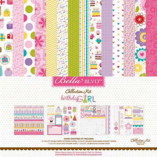 Bella Blvd - Birthday Girl Collection - 12 x 12 Collection Kit