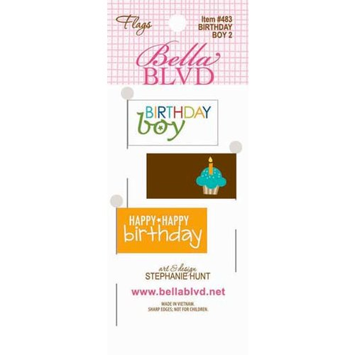 Bella Blvd - Birthday Boy Collection - Flags 2