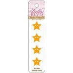 Bella Blvd - Birthday Boy Collection - Buttons - Orange Stars