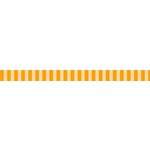 Bella Blvd - Decorative Tape - Orange Stripe