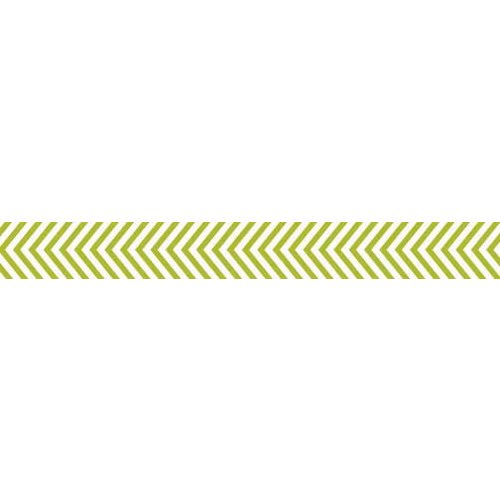 Bella Blvd - Decorative Tape - Pickle Juice Chevron