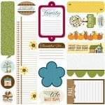 Bella Blvd - Thankful Collection - 12 x 12 Cardstock Stickers - Just Write