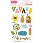 Bella Blvd - Thankful Collection - Ciao Chip - Self Adhesive Chipboard - Icons