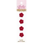 Bella Blvd - Thankful Collection - Buttons - Merlot Flowers