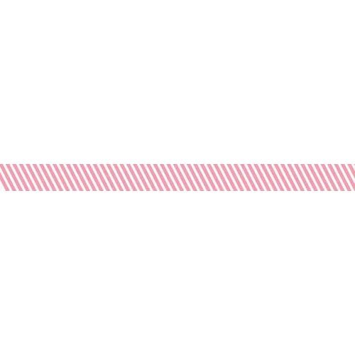 Bella Blvd - Decorative Tape - Piggy Pink Stripe