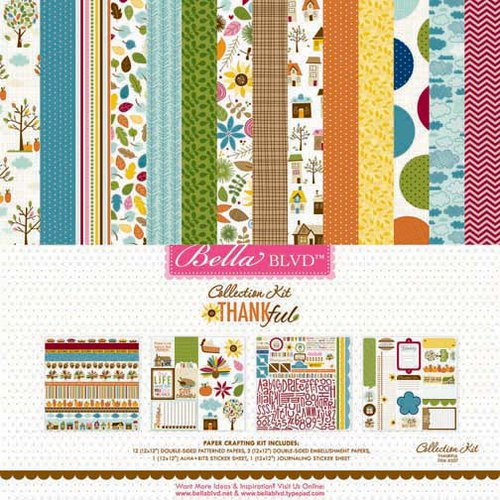 Bella Blvd - Thankful Collection - 12 x 12 Collection Kit