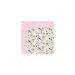 Bella Blvd - Kiss Me Collection - 12 x 12 Double Sided Paper - Bouquet Kisses