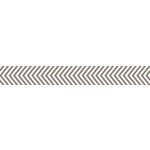 Bella Blvd - Decorative Tape - Gray Chevron