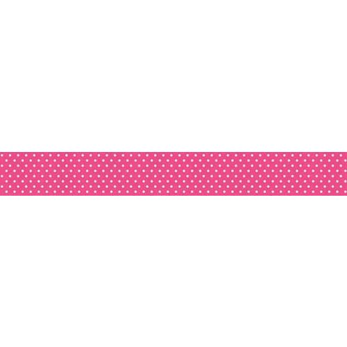 Bella Blvd - Decorative Tape - Hot Pink Dot