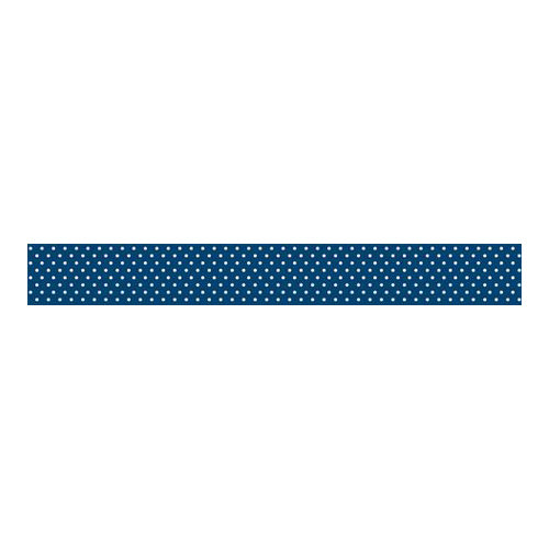 Bella Blvd - Decorative Tape - Navy Dot