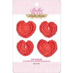 Bella Blvd - Sophisticates Collection - Crochet Hearts - McIntosh