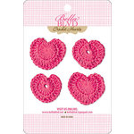 Bella Blvd - Sophisticates Collection - Crochet Hearts - Punch