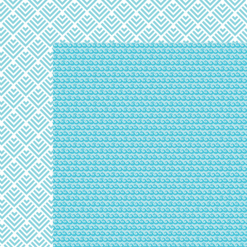 Bella Blvd - Sand and Surf Collection - 12 x 12 Double Sided Paper - Surfs Up