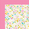 Bella Blvd - Love and Marriage Collection - 12 x 12 Double Sided Paper - Esther Fleming Floral