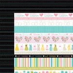 Bella Blvd - Love and Marriage Collection - 12 x 12 Double Sided Paper - Borders