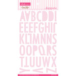 Bella Blvd - Love and Marriage Collection - Ciao Chip - Self Adhesive Chipboard - Sienna Alphabet - Frosting