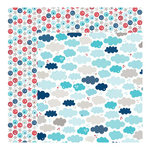 Bella Blvd - All American Collection - 12 x 12 Double Sided Paper - July Sky