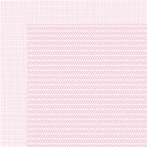 Bella Blvd - Sophisticates Collection - 12 x 12 Double Sided Paper - Freestyle Cotton Candy