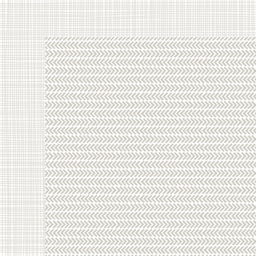 Bella Blvd - Sophisticates Collection - 12 x 12 Double Sided Paper - Freestyle Scallop