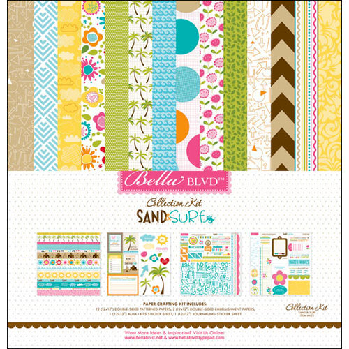 Bella Blvd - Sand and Surf Collection - 12 x 12 Collection Kit