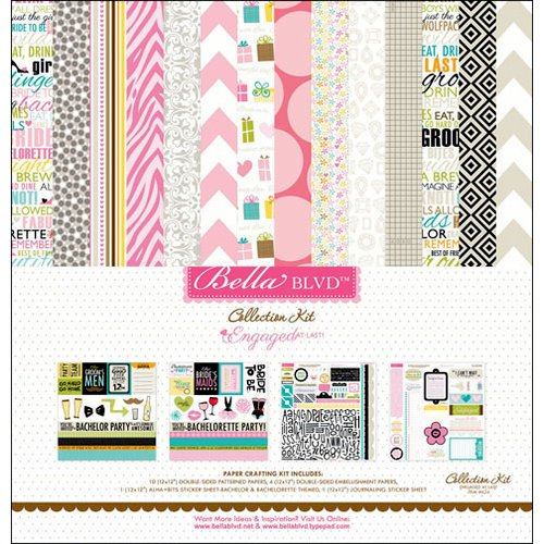 Bella Blvd - Engaged At Last Collection - 12 x 12 Collection Kit