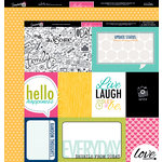 Bella Blvd - Snapshots Collection - 12 x 12 Double Sided Paper - Daily Details