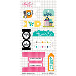 Bella Blvd - Snapshots Collection - Cardstock Stickers - Tabs