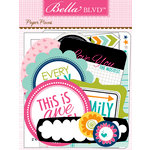 Bella Blvd - Snapshots Collection - Paper Pieces - Die Cut Cardstock Pieces