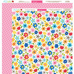 Bella Blvd - Play Date Collection - 12 x 12 Double Sided Paper - Today is Beautiful