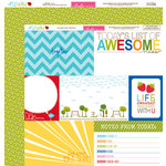 Bella Blvd - Play Date Collection - 12 x 12 Double Sided Paper - Daily Details