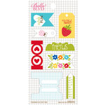 Bella Blvd - Play Date Collection - Cardstock Stickers - Tabs