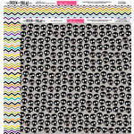Bella Blvd - Trick or Treat Collection - Halloween - 12 x 12 Double Sided Paper - No Brainer